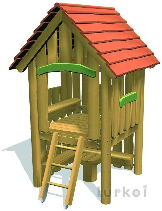 Casita del lago frederik con banco k mobiliario urbano for Cabine del lago casitas