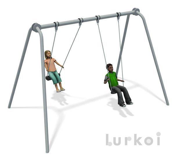 0a565c895 COLUMPIO JUNIOR ACERO INOX - Mobiliario Urbano e Instalación de Parques  Infantiles – Fabricantes Suelos y Columpios Parques Infantiles -  Señalizacion ...