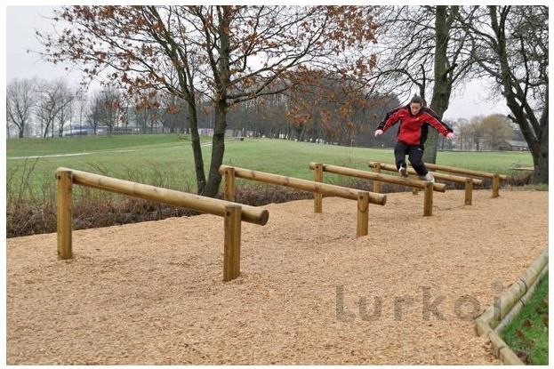 equilibrio correr obstaculo Playdale Lurkoi